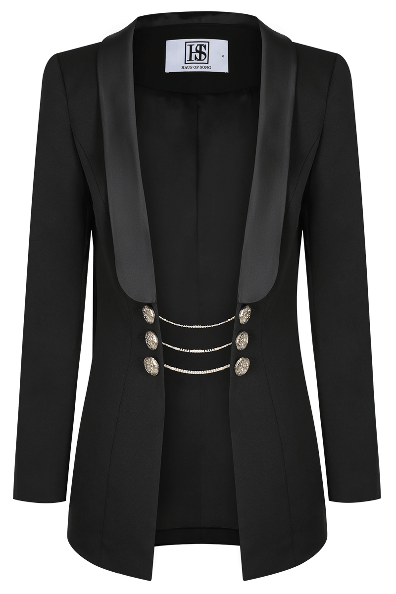 VICTORIA Statement Wool Blazer | HAUS OF SONG