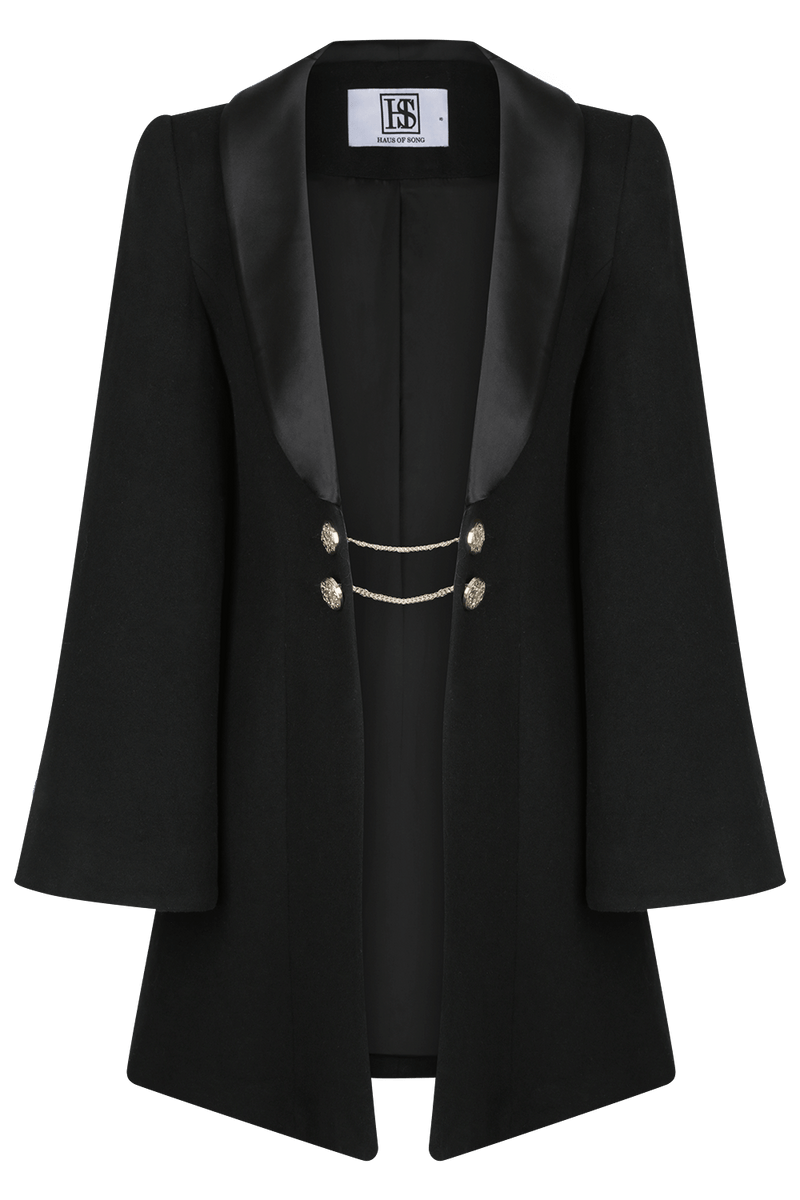 HARLOW Wool Coat | HAUS OF SONG