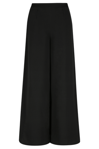ARDEN Devoré Wide Leg Trouser