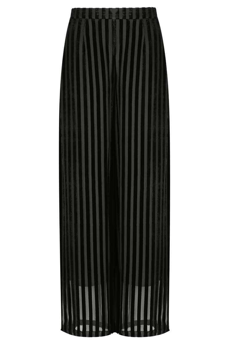 ARDEN Devoré Wide Leg Trouser | HAUS OF SONG