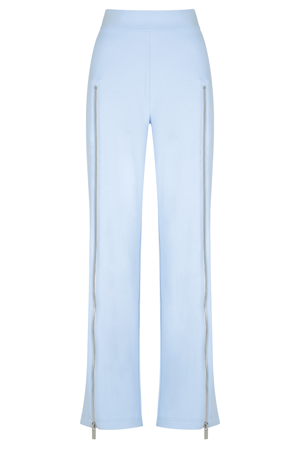 ZIP ME UP Track Pant - SOFT BLUE - HAUS OF SONG