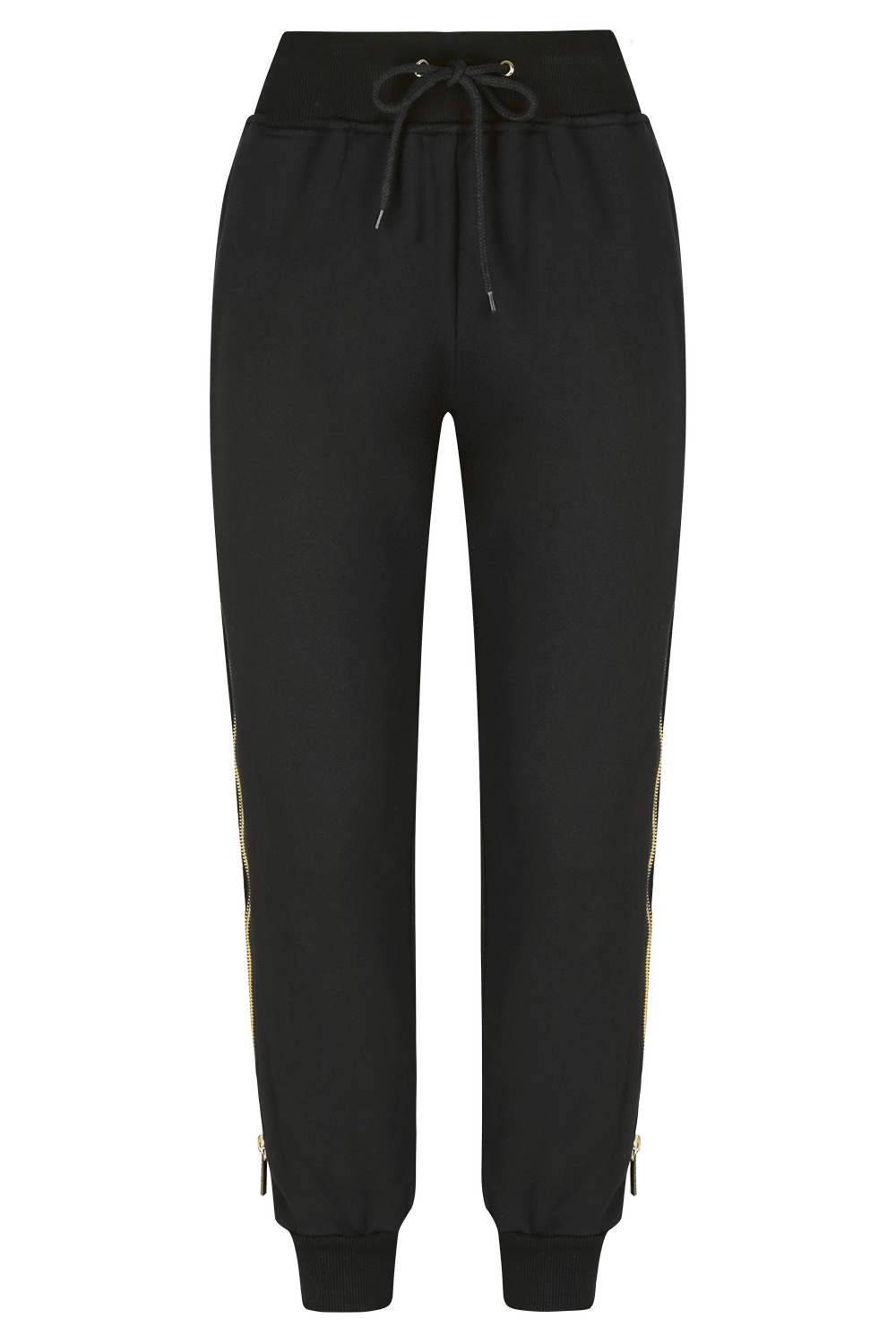 SLIDE AWAY Jogger Pants- BLK/GLD - HAUS OF SONG