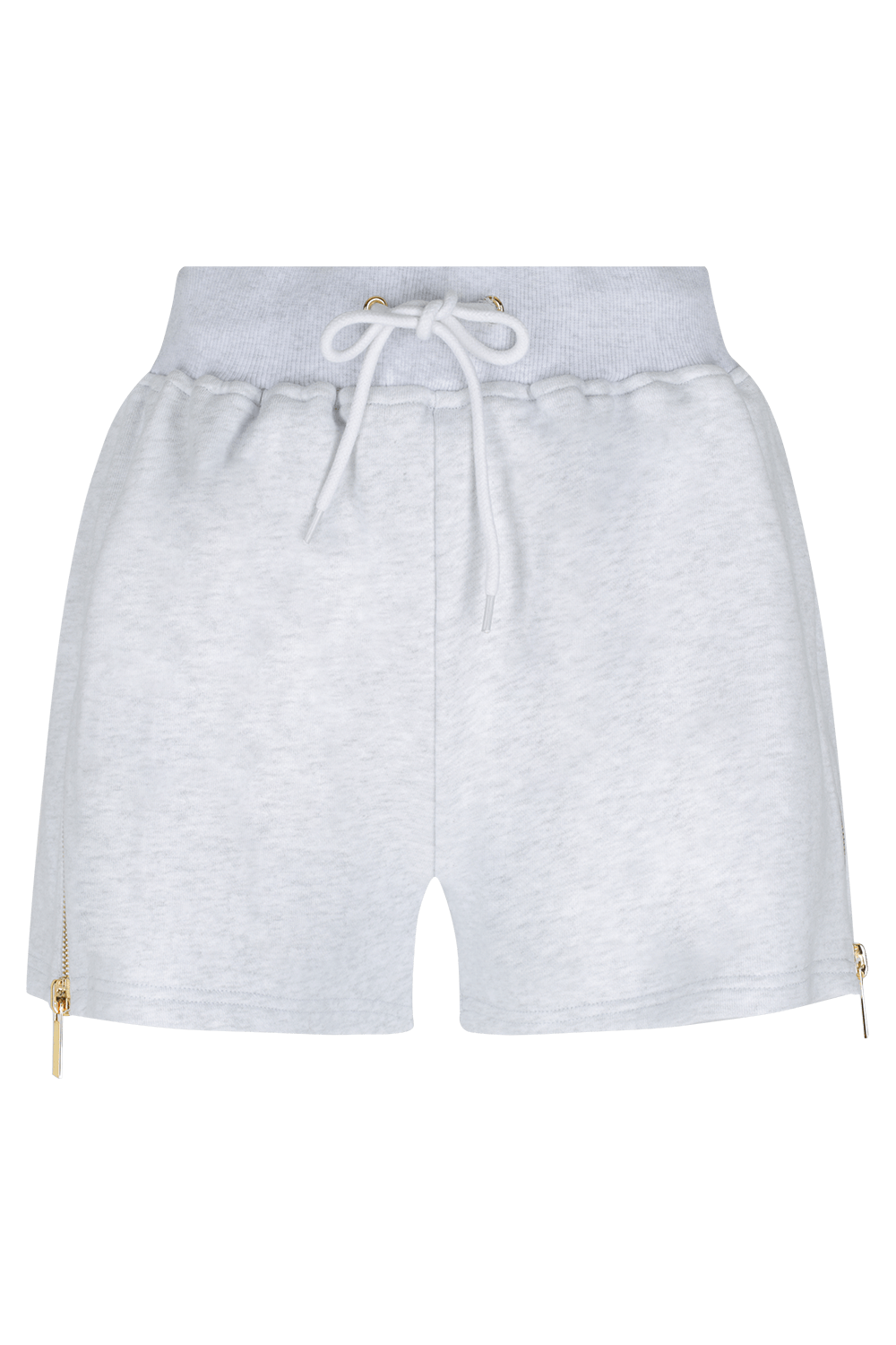 HATE ME Shorts - GRY/GLD - HAUS OF SONG