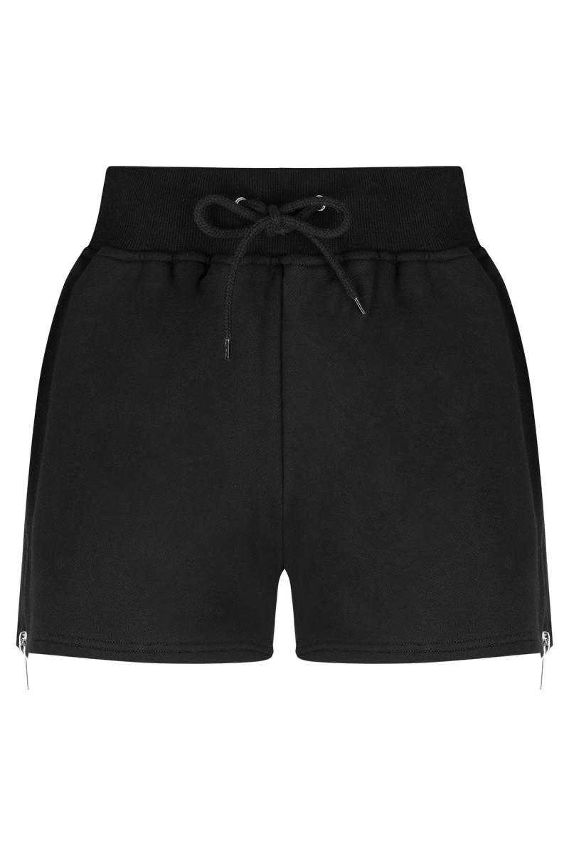 HATE ME Shorts - BLK/PLTNM | HAUS OF SONG