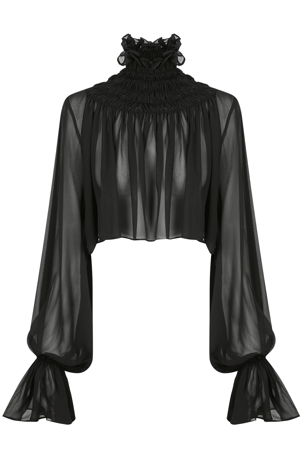 GISELLE Silk Georgette Top | HAUS OF SONG