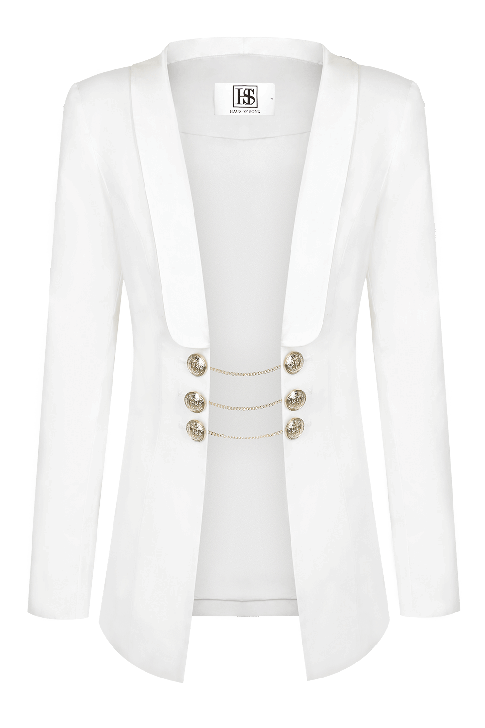 HARPER Statement Blazer | HAUS OF SONG