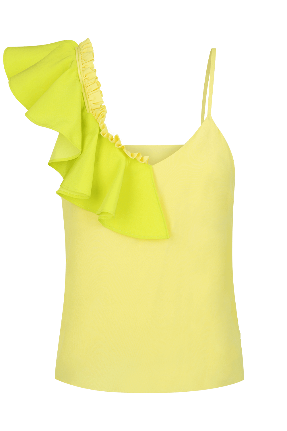 POMME Asymmetrical Silk Cami Top | HAUS OF SONG