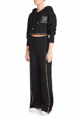 ZIP ME UP Track Pants - BLK - HAUS OF SONG