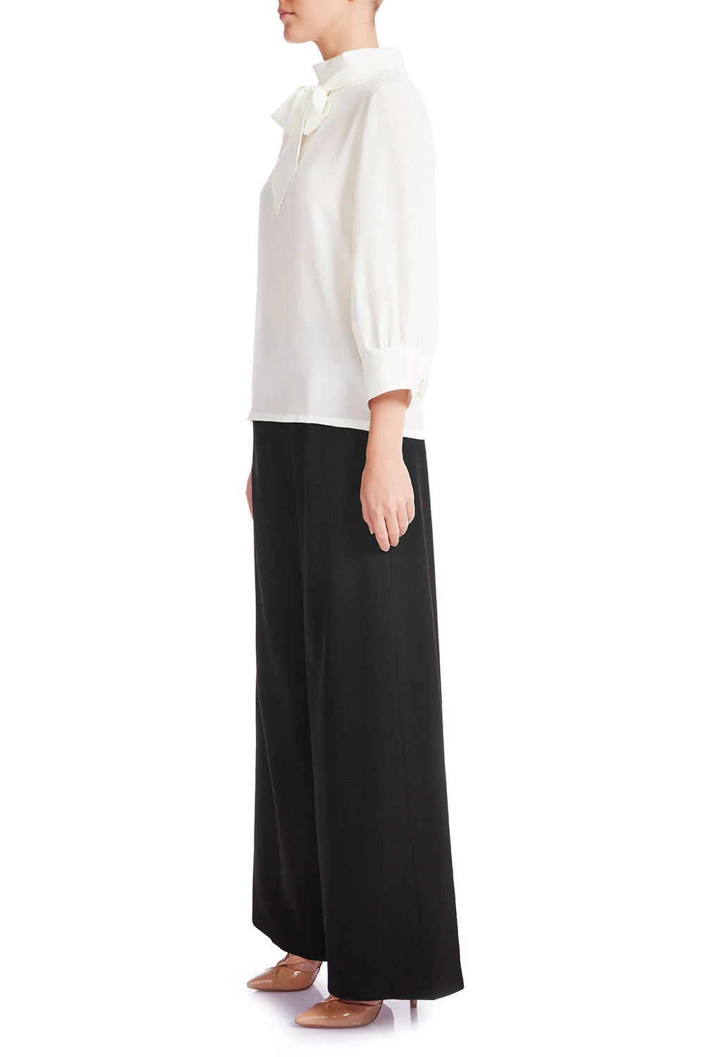 ANNA Wide Leg Trouser - HAUS OF SONG
