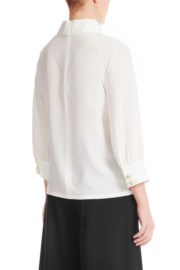 ELIE Silk Blouse - HAUS OF SONG