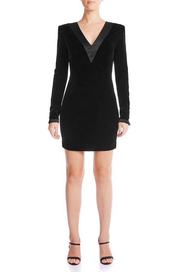 ENVY Velvet Statement Dress - HAUS OF SONG