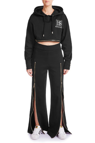 SLIDE AWAY Jogger Pants- BLK/GLD