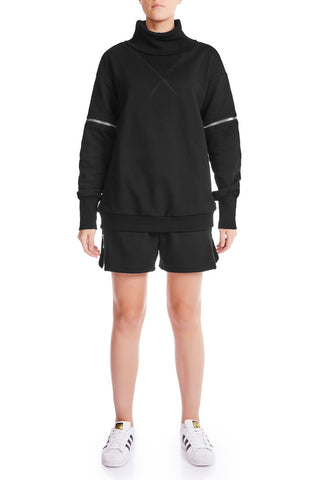 OPEN SIGHT Sweatshirt - GRY/PLTNM