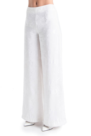 ALEXIA Floral Wide Leg Trouser | HAUS OF SONG