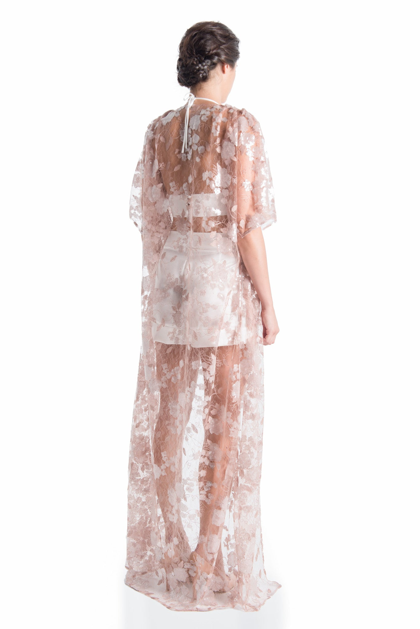 Venetian Lace Kimono - ROMANTIC DUSTY | HAUS OF SONG