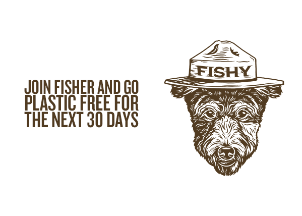 Join Fisher and Go Plastic-Free this Month