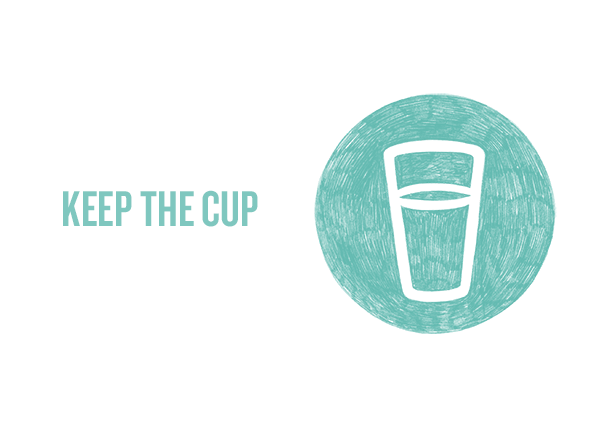 Fisher's Plastic-Free Tips: Keep the Cup
