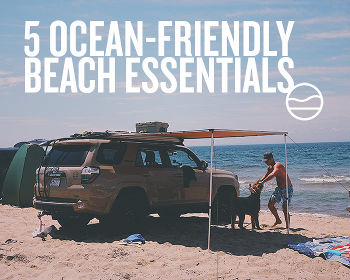 5 OCEAN-FRIENDLY BEACH ESSENTIALS