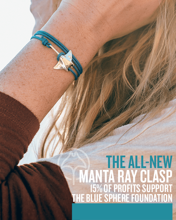 INTRODUCING THE MANTA RAY CLASP + OUR NEWEST PARTNER