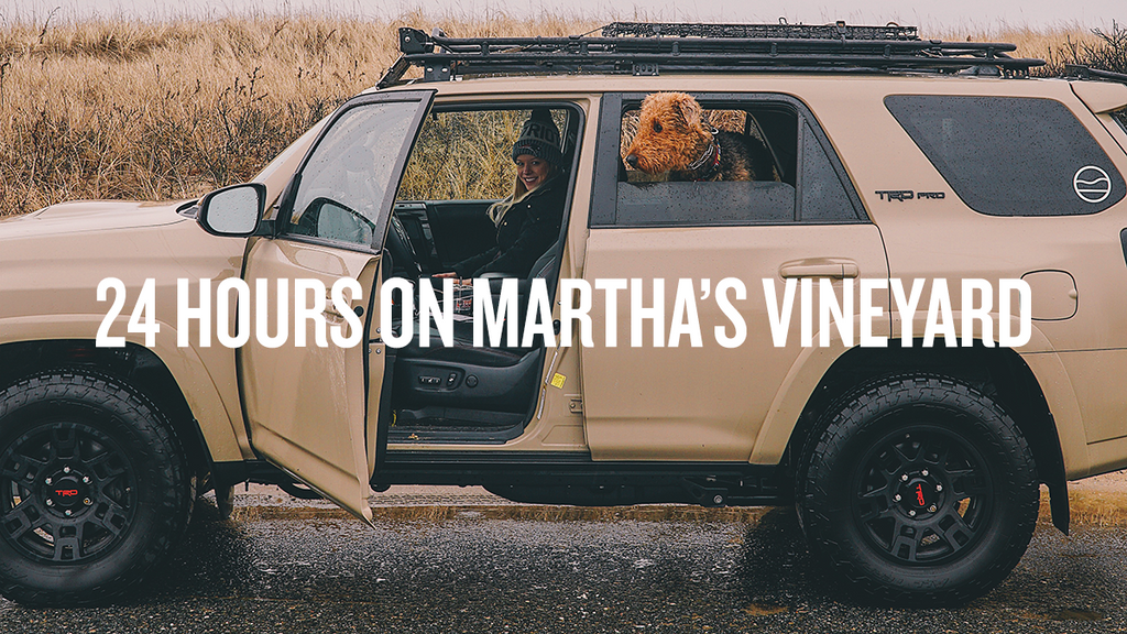 24 HOURS ON MARTHA'S VINEYARD [VALENTINE'S VLOG]