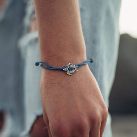 Cape Clasp Turtle Bracelet supports the Mass Audubon Society
