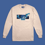 Santa Jaws Long Sleeve Tee