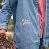 Make Waves Denim Shirt
