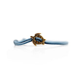 Turtle Bracelet Bronze Blue