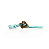 Turtle Bracelet Bronze Teal