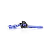 Turtle Bracelet Silver Purple