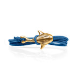Cape Clasp Bronze Whale Shark Blue Bay