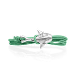 Cape Clasp Silver Whale Shark Green Turtle