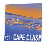 Cape Clasp Whale Tail Earring Silver