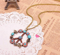 FREE - Brand New Hippie Necklace - HippieRoad - 1