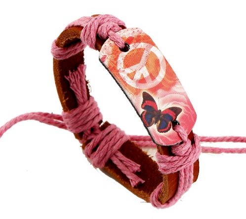 FREE - Hippie Leather Bracelet Hand Made - HippieRoad - 5