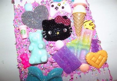Hello Kitty Kawaii Craze iPad Mini  (Fits 1/2/3) Case -  - ai-candy-bling.myshopify.com