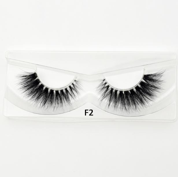 Mink Flase Eyelashes F Series