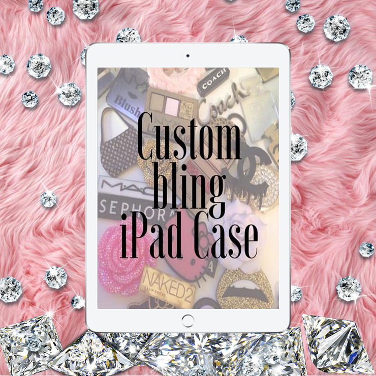 Custom Made iPad Bling Case