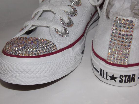Icy Crystal Bling Converses -  - ai-candy-bling.myshopify.com