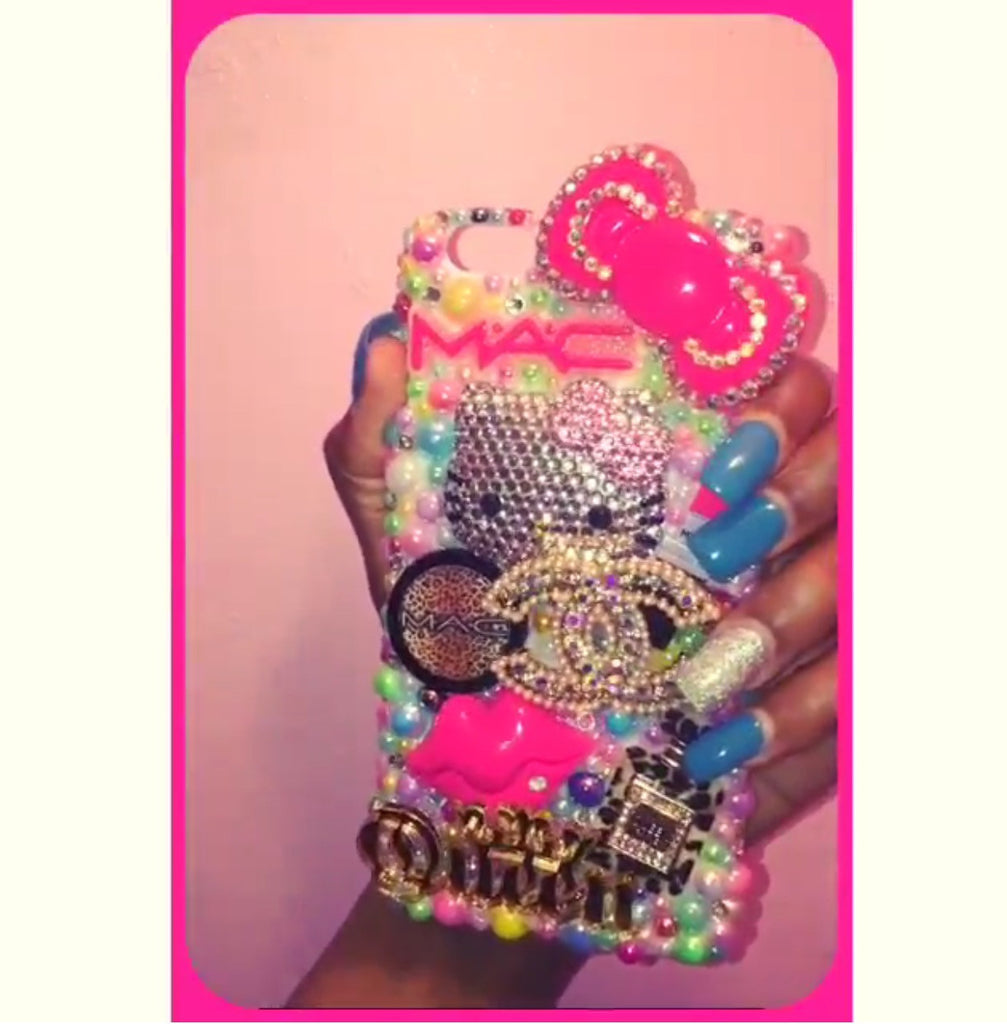 Design: Multi-Color HK Queen Bling -  - ai-candy-bling.myshopify.com