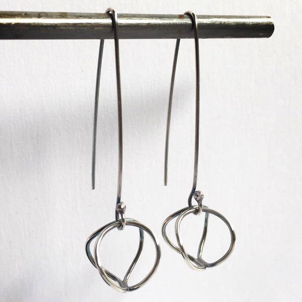 Dimensional Loop Earrings