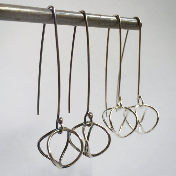 Dimensional Loop Earrings - Shepherd's Run Jewelry