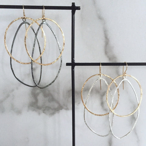 Movement drop earrings - Shepherd's Run Jewelry