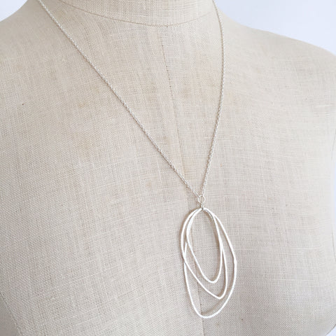 Organic Trio Necklace - Shepherd's Run Jewelry