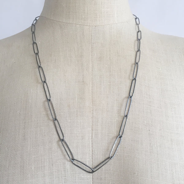 Paperclip necklace