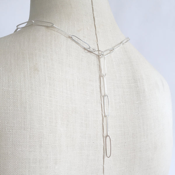 Paperclip necklace - Shepherd's Run Jewelry