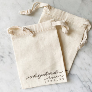 Shepherd's Run Jewelry Cotton Pouch