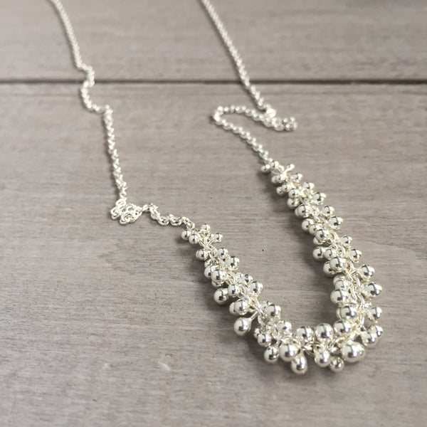 Drops of Mercury necklace