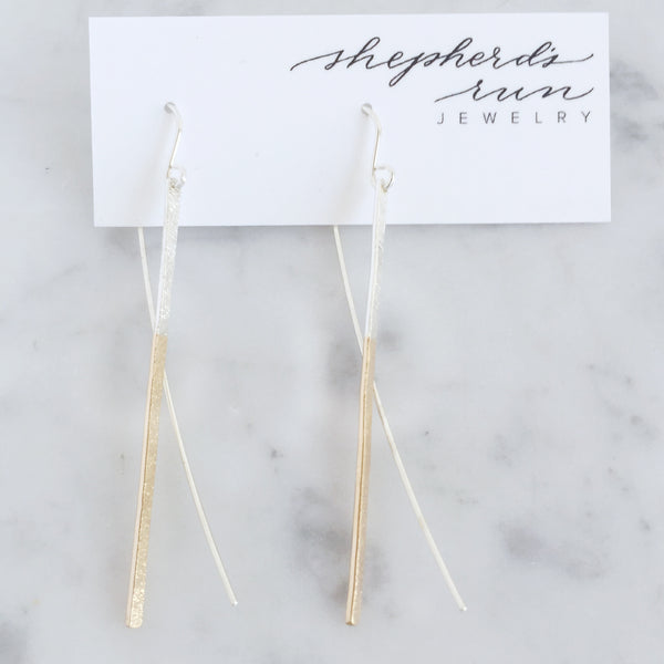 Reed Drop Earring