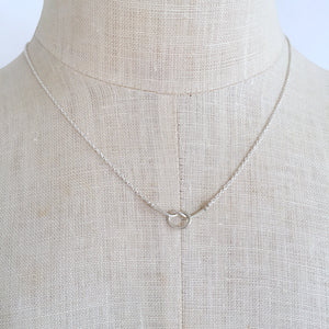 Loveknot necklace WS